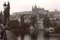 Prague Castle from the Charles Bridge   1993
